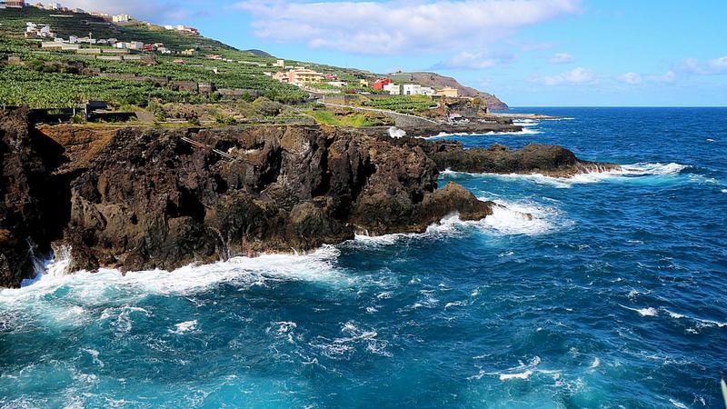 Foto: Die Küste in der Nähe der Ortschaft San Andres auf La Palma