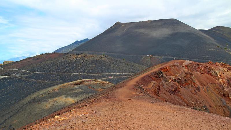 Foto: Vulkan San Antonio in Fuencaliente (La Palma)