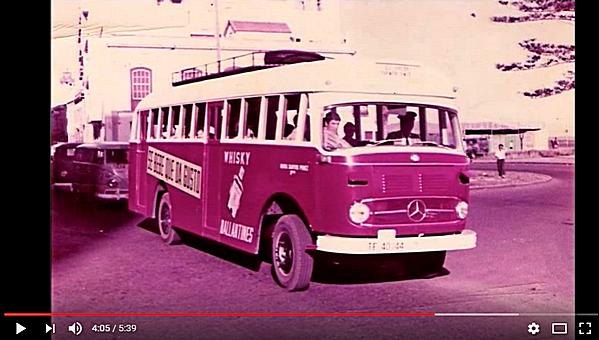 Screenshot Video: Historia de las guaguas de La Palma 1907 - 2015