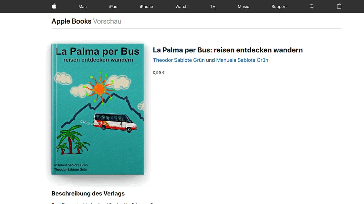 Bildschirmfoto vom iTunes-Online-Shop